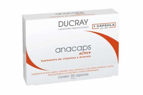 Anacaps: suplemento para cabelos
