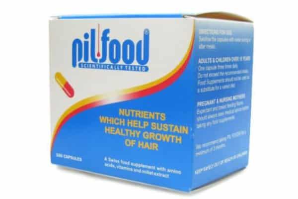 Pill food cabelos