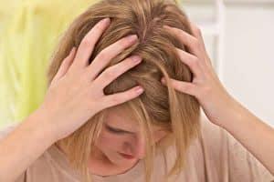 alergia à tinta de cabelo