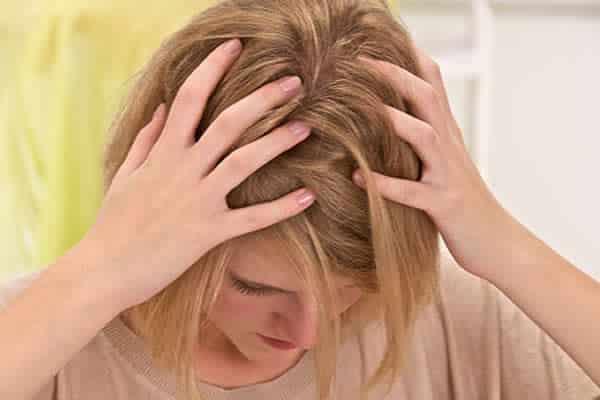 alergia à tintura de cabelo