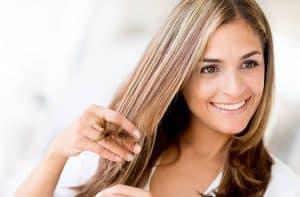 alisantes naturais para cabelo