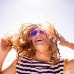 queimadura solar no couro cabeludo queimado Sol